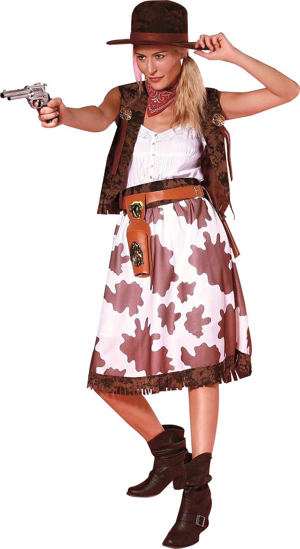 Generique - Disfraz de Vaquera Mujer Talla única (40): Amazon.es ...