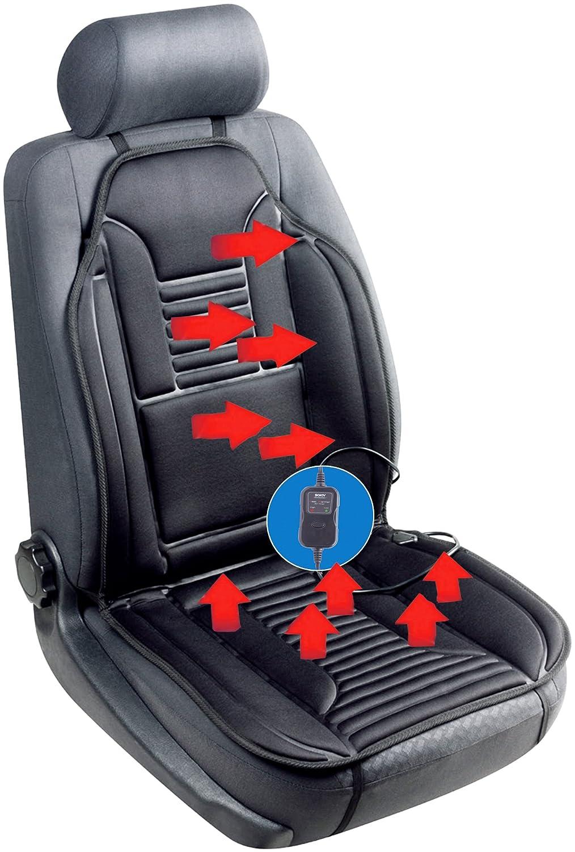 Chauffage de siè ge de voiture universel 12 V Coussin chauffant chaud (Noir) –  Sojoy SJ154A