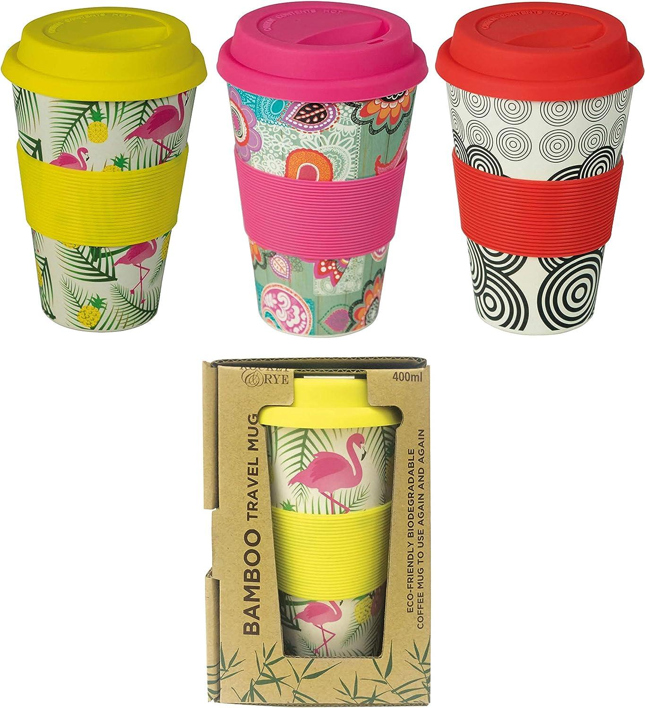 FACTORYCR- Vaso Bamboo 480 ml/ 100% Biodegradable 3 Colores ...