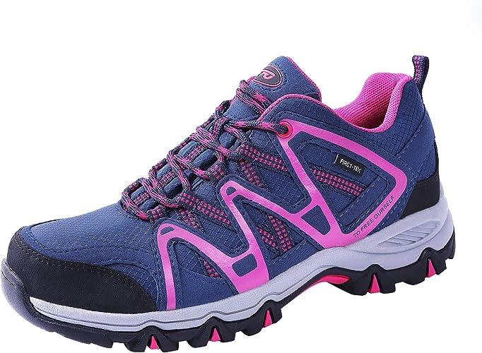 TFO - Zapatillas de senderismo para mujer, transpirables y ...