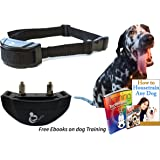 No Bark Collar Dog Training / No Harm Prevent Excessive Barking with 7 sensitivity levels / Adjustable Buckles For Small Medium Dogs