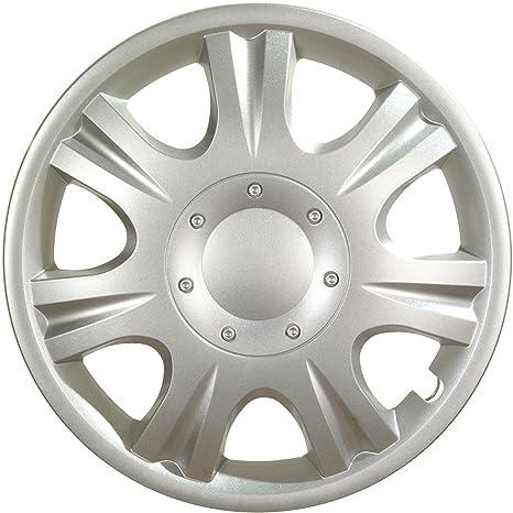 """ALBRECHT automotive 09043 Tapacubos Ibiza 13"""" pulgadas, 4 Unidades"""