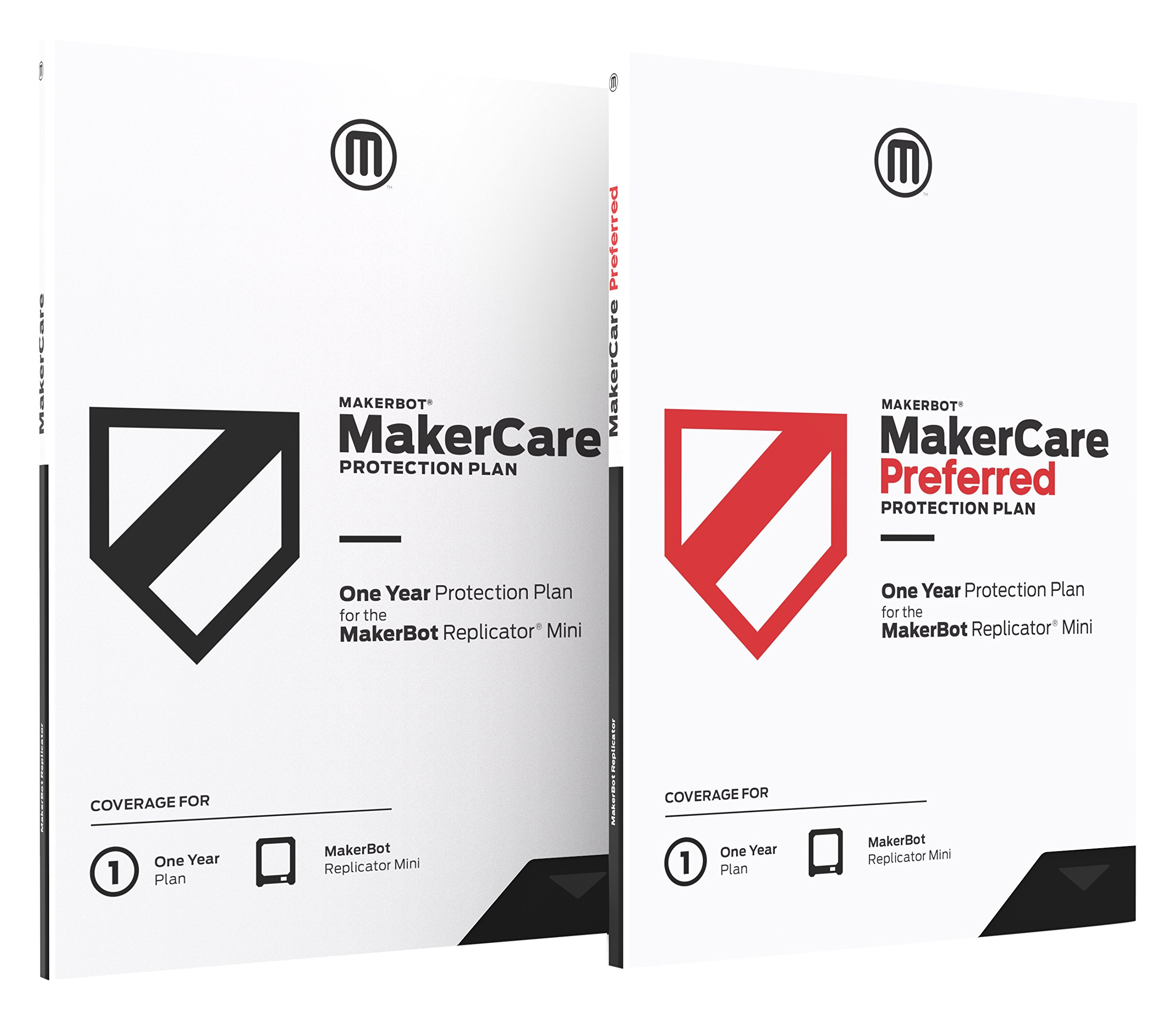 MakerBot MP07020 Makercare Preferred Protection Plan for Replicator Mini+ - 1 Year