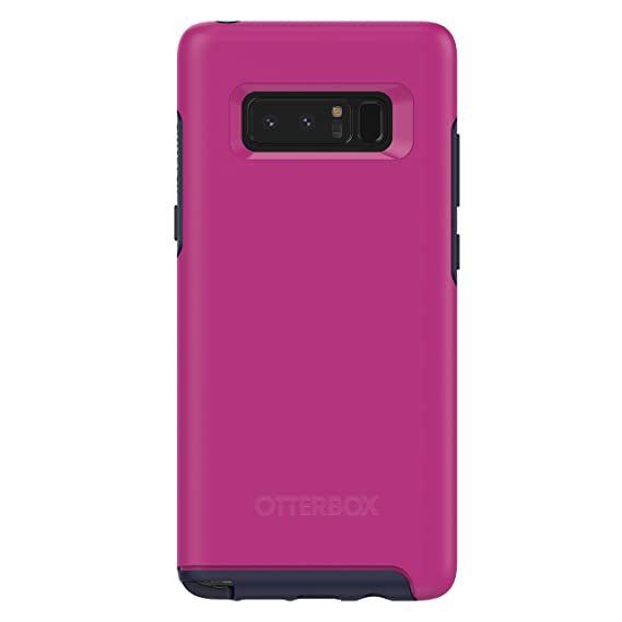 cheap for discount d20cd 129ca OtterBox SYMMETRY SERIES Case for Samsung Galaxy Note8 - Retail Packaging -  MIXED BERRY JAM (BATON ROUGE/MARITIME BLUE)