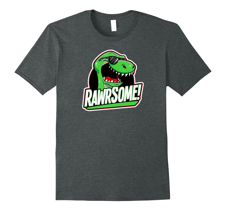1f73b8305 Cool Kids T-Rex Dinosaur Shirt Boys Rawrsome Tee-4LVS – 4loveshirt
