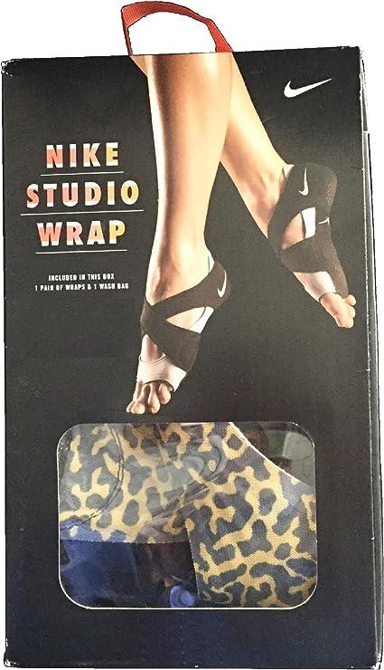 Amazon Com Nike Women S Studio Wrap Yoga Dance Barre Training Shoes Black Hyper Pink Gold Lead Wolf Grey Xs Health Personal Care
