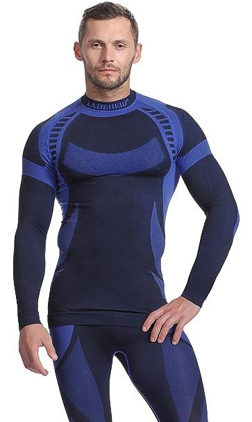 Ladeheid Camiseta Térmica Mangas Largas Ropa Interior Hombre: Amazon.es: Ropa y accesorios