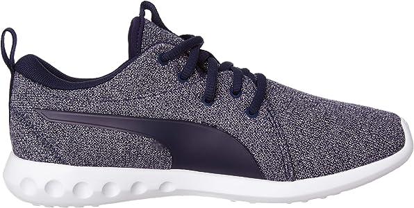 PUMA Carson 2 Knit NM Wns, Zapatillas de Running Mujer, Peacoat-Rose Gold, 36 EU: Amazon.es: Zapatos y complementos