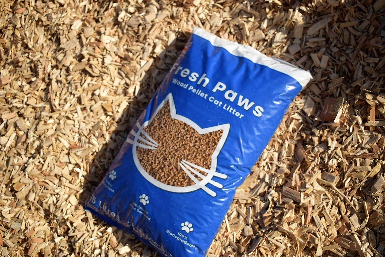 Fresh Paws Premium Wood Pellet Cat Litter 5 L