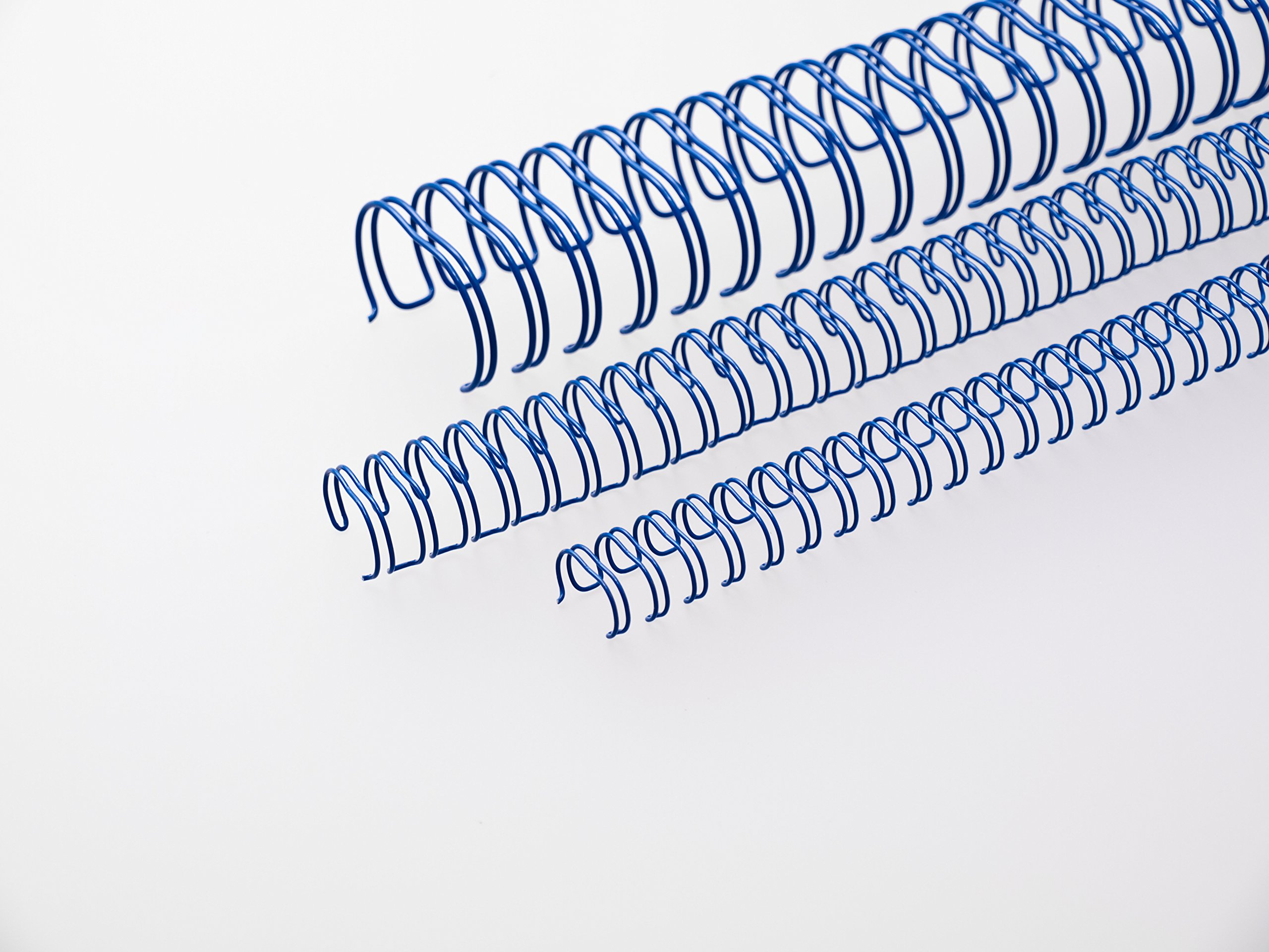 Renz 311100334 11.0 mm Ring Wire Cut Element - Blue. 3:1 Pitch. A4. 100 Wires per Box.