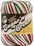 Lily Sugar 'n' Cream Ombres 56.7 g Mistletoe Ball of Yarn, Green