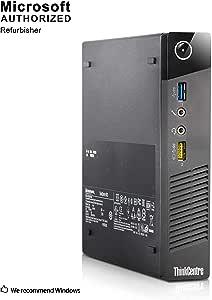 2018 Lenovo Think Center M73 Tiny Desktop PC, Intel Core I5-4570T 2.9GHz up to 3.6GHz, 16GB RAM, 360GB SSD, WIFI, BT 4.0, HDMI, USB 3.0, VGA, DP port, W10P64 (Renewed)