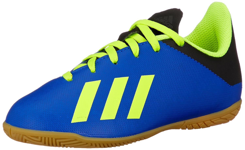 Adidas Unisex-Kinder X Tango 18.4 in Fußballschuhe, Core schwarz Solar Yellow