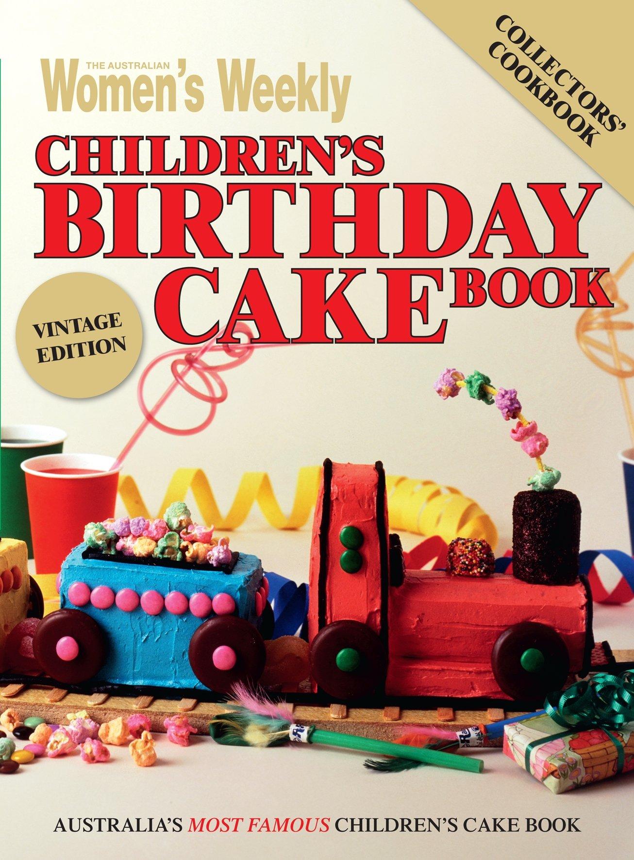 Groovy The Australian Womens Weekly Childrens Birthday Cake Book Birthday Cards Printable Benkemecafe Filternl