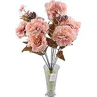 Buffer 11 Dallı 50 cm Karanfil Yapay Çiçek Yavruağzı-CK002YA