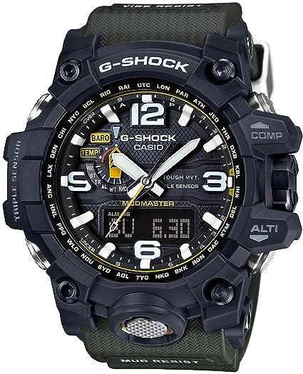Reloj Casio G-shock Mad Master mundo seis estaciones correspondiente solar Radio GWG-1000 - 1 a3jf hombre: Amazon.es: Relojes