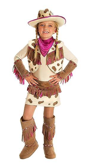 Amazoncom Princess Paradise Girls Rhinestone Cowgirl Costume