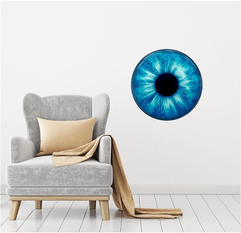 Iris Swirl  Vinyl Wall decal