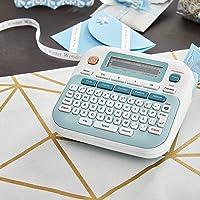 """Brother P-touch Embellish Ribbon & Tape Printer PT-D215e White 6.2"""" x 6"""" x 2.7"""""""
