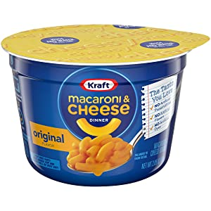 Kraft Easy Mac Original Flavor Mac & Cheese Dinner (2.05 oz Cups, Pack of 10)