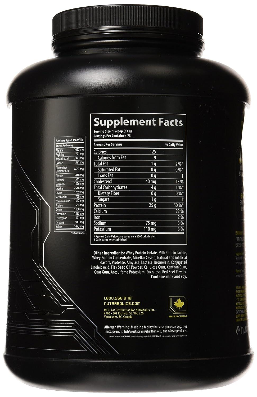 Nutrabolics Isobolic Strawberry 5lb 73 Servings