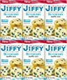 Jiffy, Blueberry Muffin Mix, 7oz Box (Pack of 6)