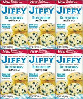 product image for Jiffy, Blueberry Muffin Mix, 7oz Box (Pack of 6)