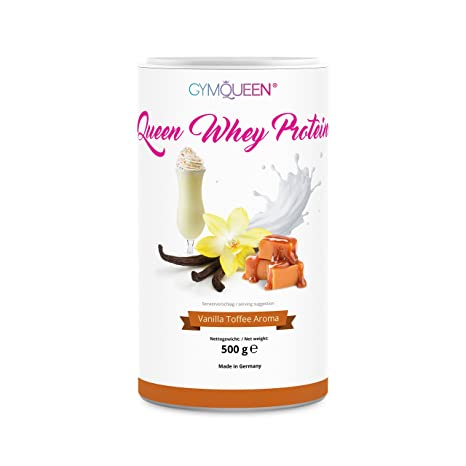 GymQueen Proteína de Whey – Proteína de suero de leche concentrada e aislada de GymQueen –
