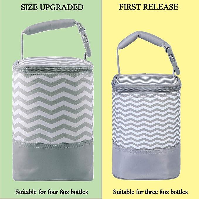 Amazon.com: MBJERRY - Bolsa térmica para biberones de bebé ...