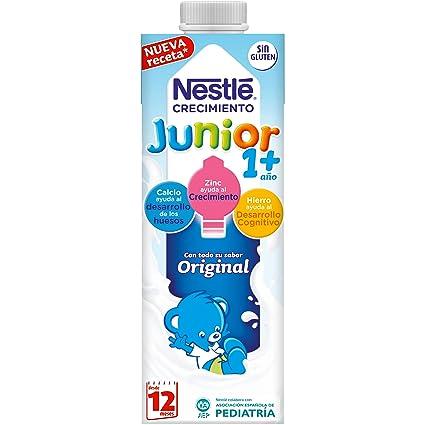 NESTLÉ JUNIOR 1+ Original - Leche para niños a partir de 1 año