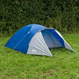 3 Man Person Dome Tent Festival Camping With Porch Trail Bracken 3000mm HH