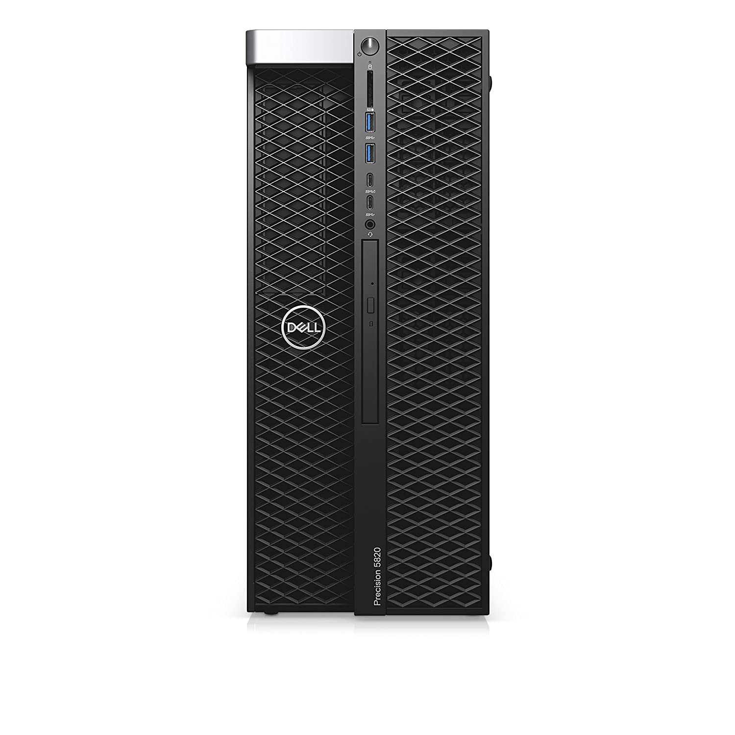 DELL Precision 5820 Intel® Xeon® W-2123 16 GB DDR4-SDRAM 512 GB SSD Negro Torre Puesto de Trabajo - Ordenador de sobremesa (3,60 GHz, Intel® Xeon®, 16 GB, 512 GB, DVD±RW, Windows 10 Pro)