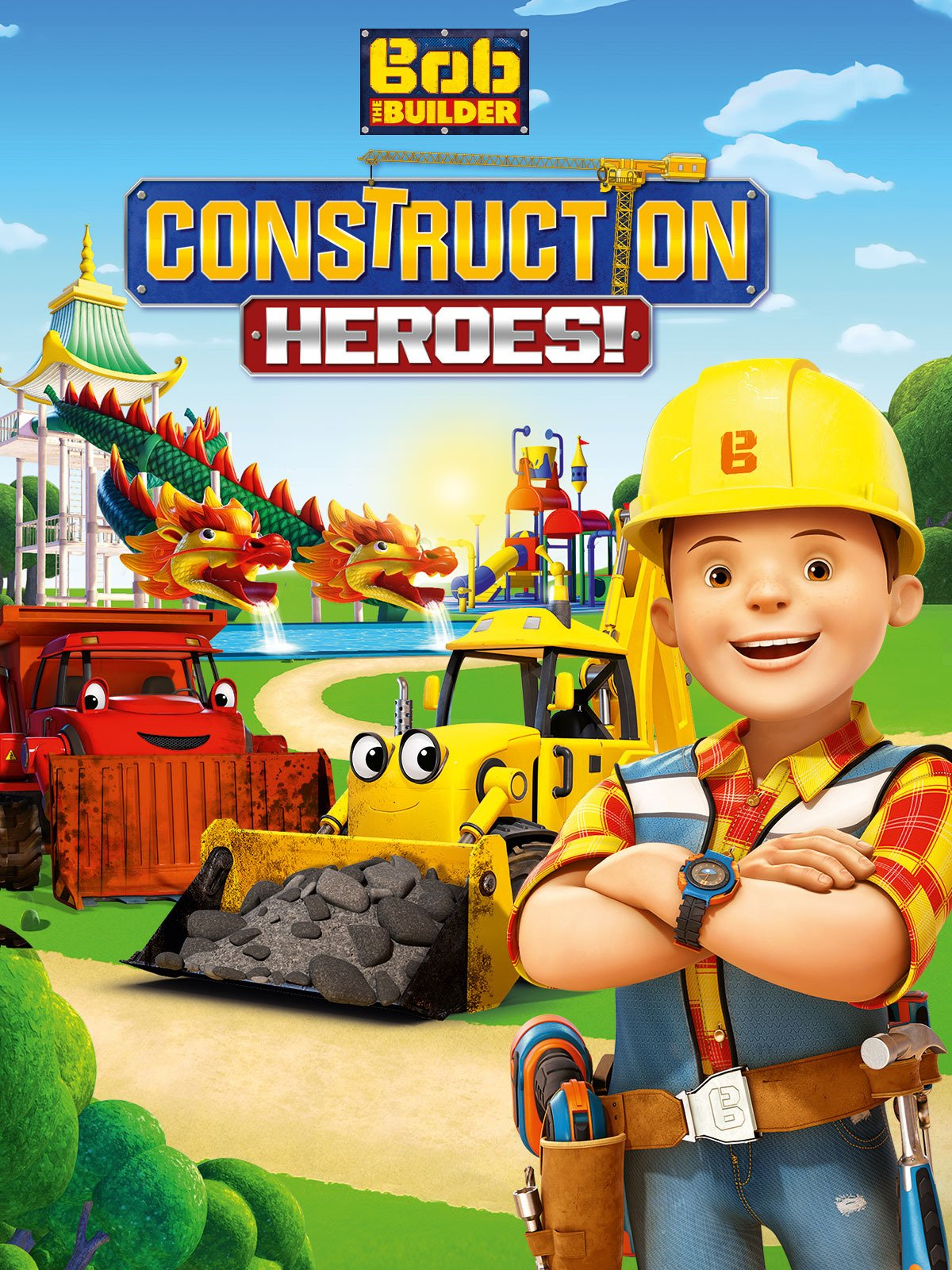 Bob the builder live online dvd rental - Bob The Builder Construction Heroes