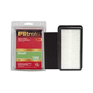 3M Filtrete Bissell 1008 (Cleanview) Ultra Allergen Vacuum Filter