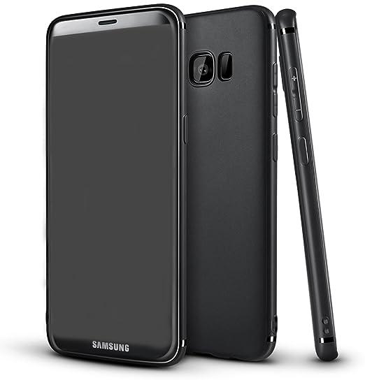 4 opinioni per COVERbasics SLIMMY 0.3mm per Samsung Galaxy S8 PLUS SM-G955 con Bordo Proteggi