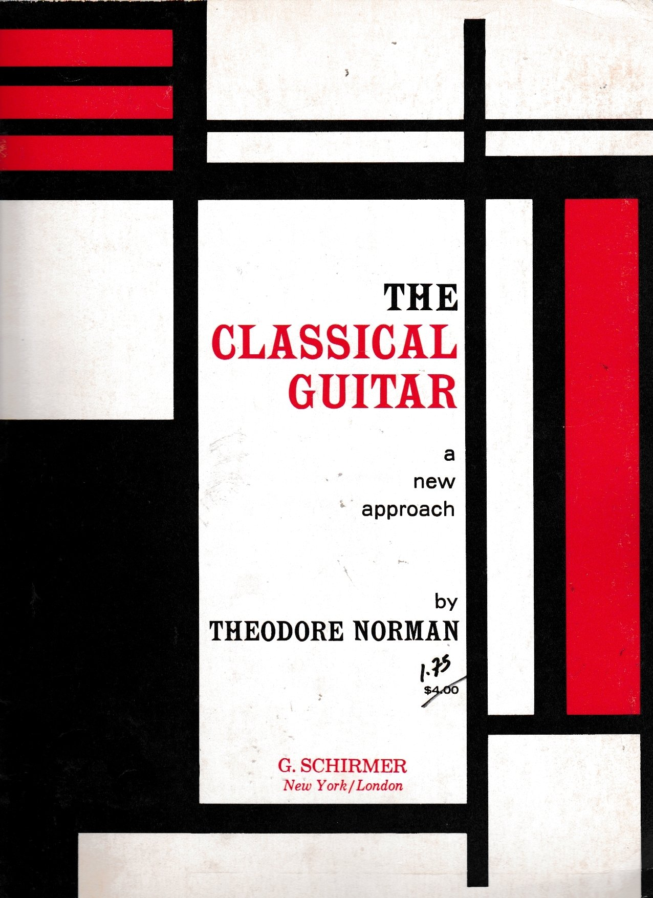 The Classical Guitar. A new approach, Norman, Theodore