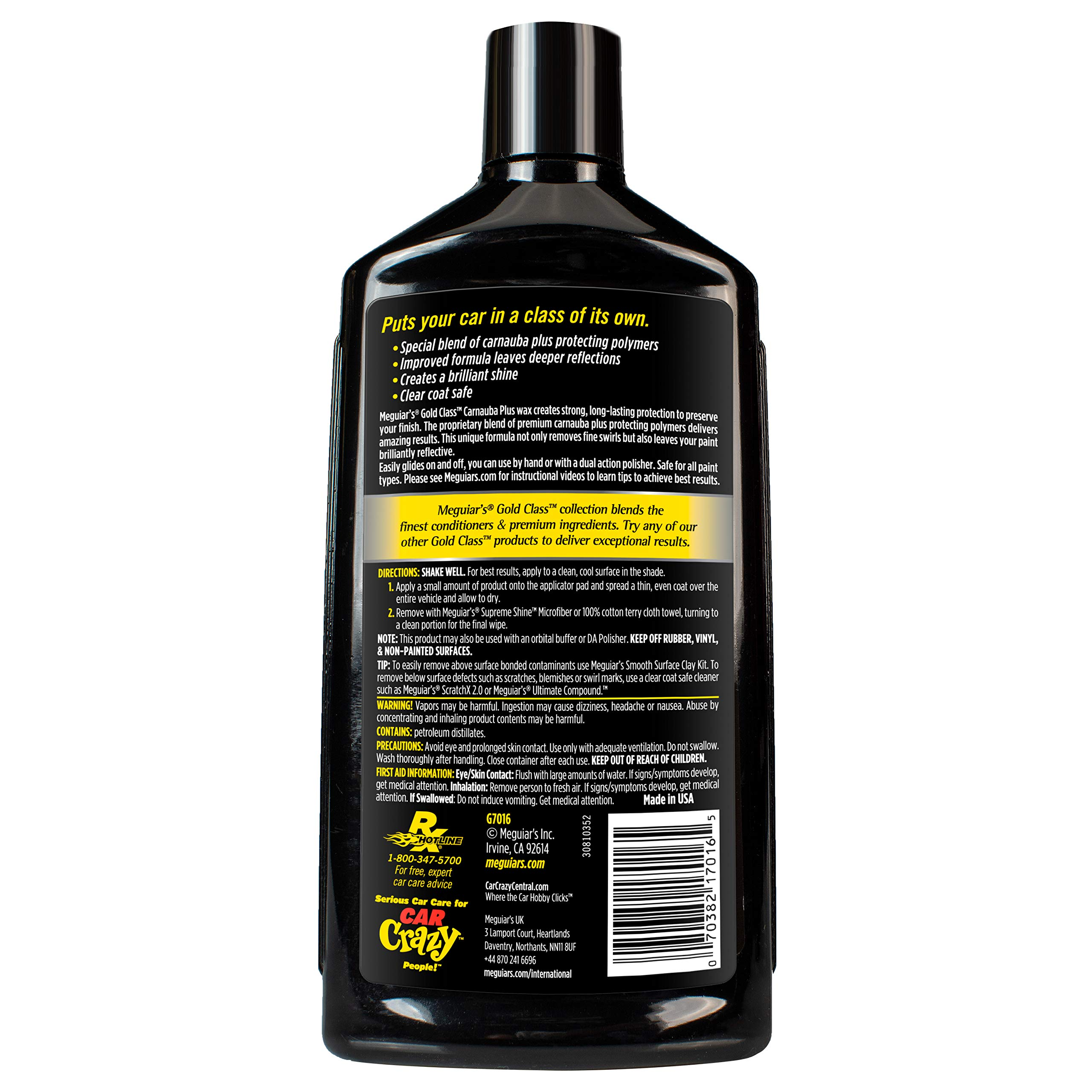 MEGUIAR'S G55032SP Complete Car Care Kit by MEGUIAR'S (Image #9)