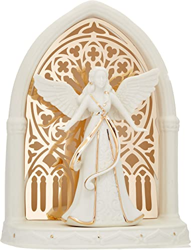 Lenox 879218 Illuminations Lit Angel Scene