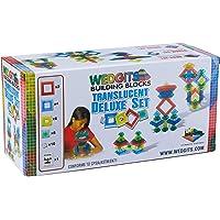 Wedgits Translucent Deluxe Building Block 30 Piece Set