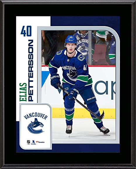 factory price ff6eb 208c4 Amazon.com: Elias Pettersson Vancouver Canucks 10.5