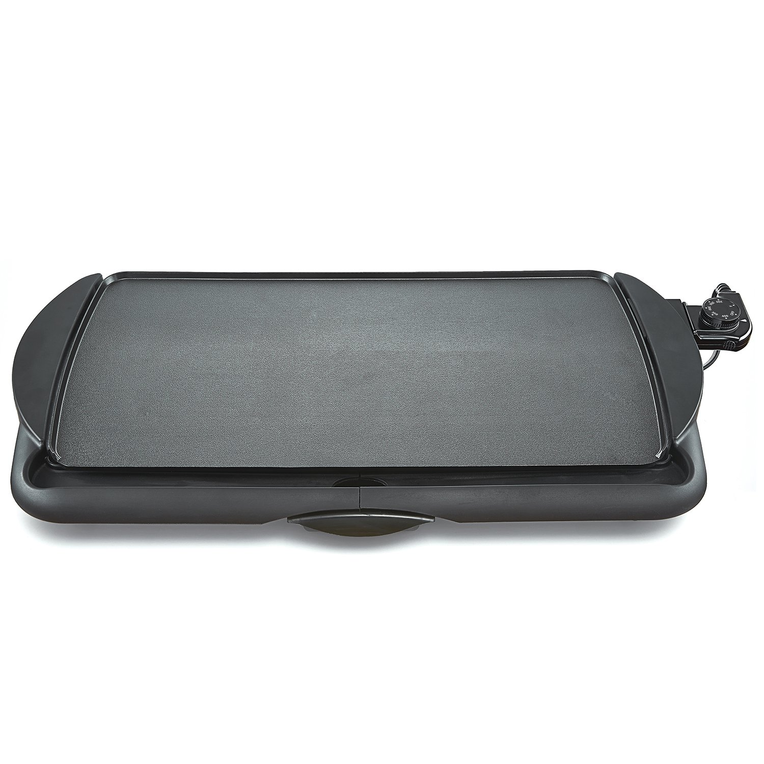 BELLA 10.5 Inch by 20 Inch Electric Non Stick Griddle, Black  BPA-FREE 13602 by BELLA