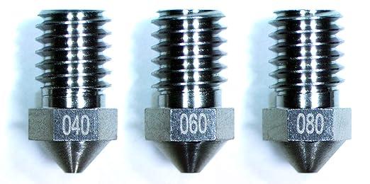 Boquilla extrusora de tungsteno para impresora 3D M6, paquete de 3 ...