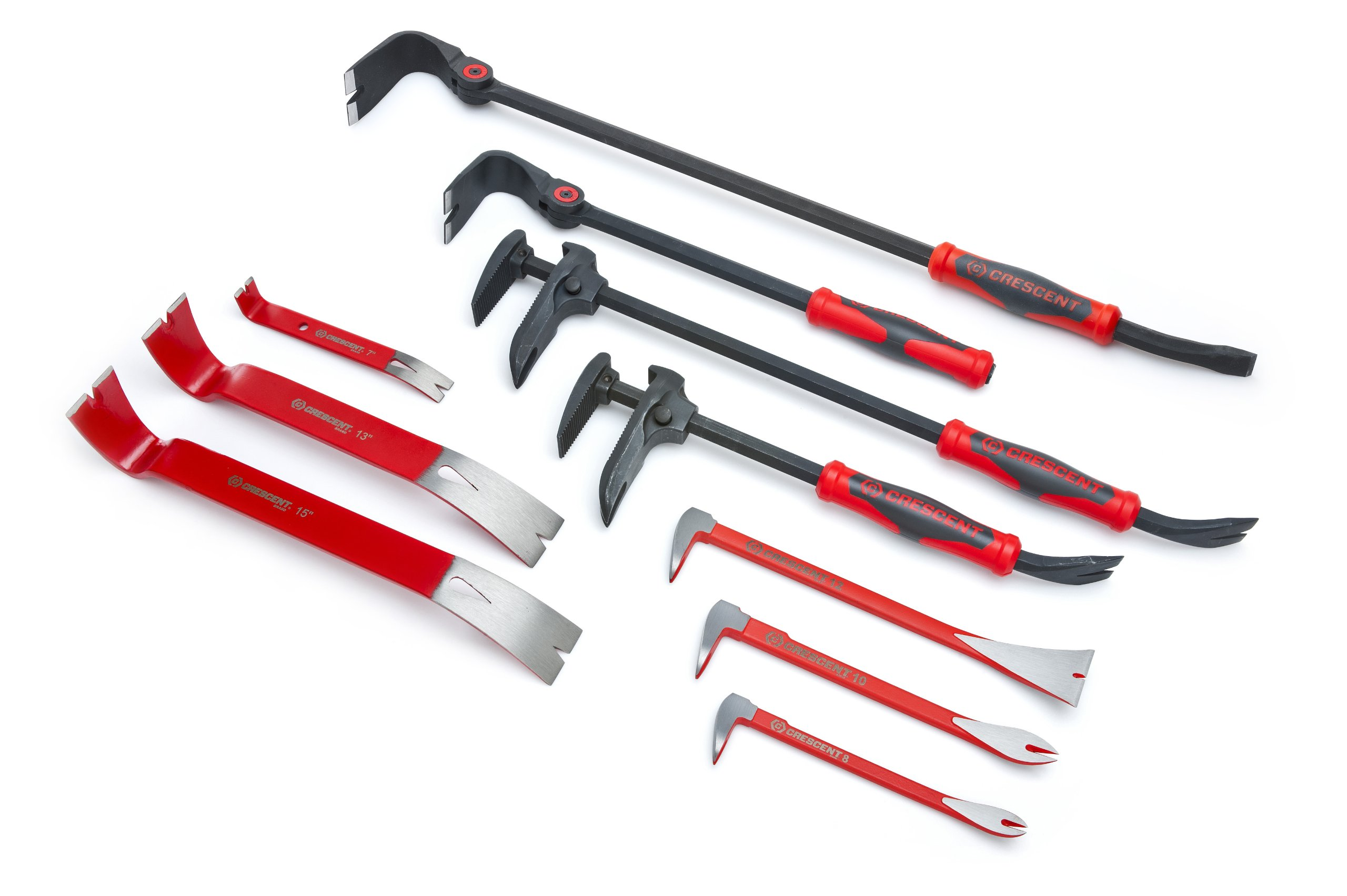 Crescent DB16 16-Inch Adjustable Pry Bar, Nail Puller, Red/Black by Apex Tool Group (Image #10)