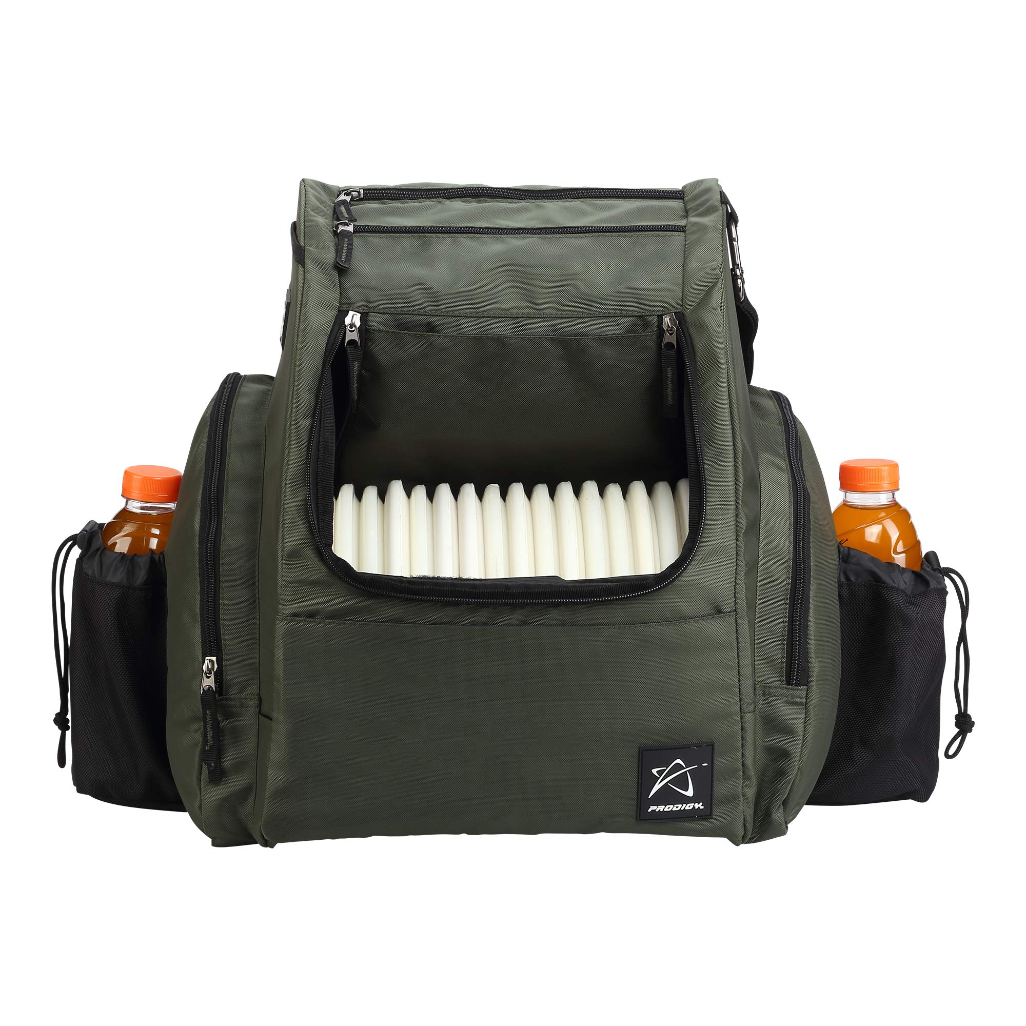 Prodigy Disc BP-2 Backpack - 2019 Model - Fits 25 Discs (Green/Black, Rainfly)