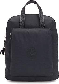 Kipling KAZUKI - Mochila de a diario, 19 liters, Gris (NIGHT GREY): Amazon.es: Equipaje