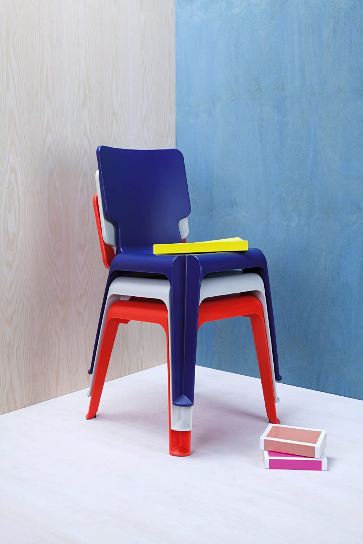 Authentics 1085068 Wait Chaise en plastique Bleu clair 47,5 x 77,5 x 54 cm   Amazon.fr  Cuisine   Maison 3c48958adf0e