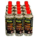12L PREMIUM Bio Ethanol Heating Fuel for fires & Stoves Daily Delivery UK & Ireland