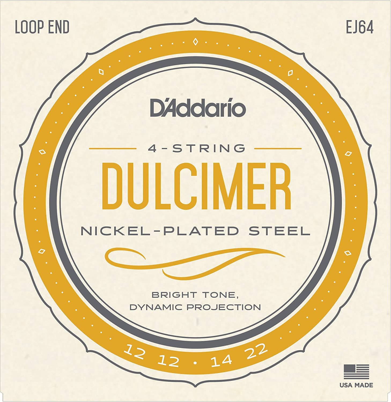 D'Addario EJ64 4-String Dulcimer Strings D'Addario