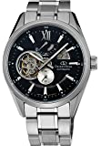 [オリエント]ORIENT 腕時計 ORIENTSTAR オリエントスター セミスケルトン 機械式 自動巻(手巻付) ブラック WZ0181DK メンズ