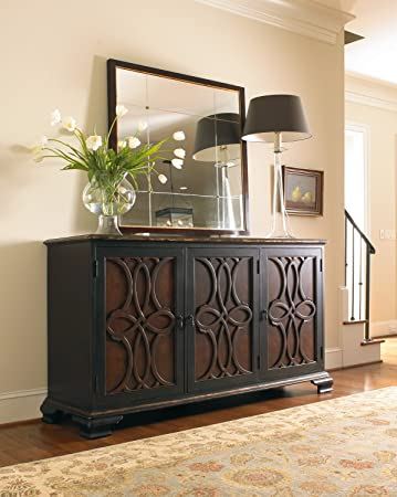 hooker furniture adagio two tone credenza